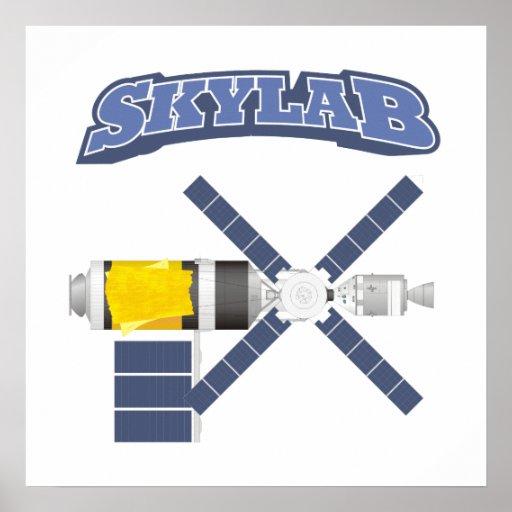 Estación espacial de Skylab Póster