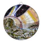 Estación espacial del anillo - hábitat futuro del  tabla dardos