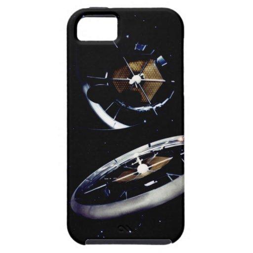 Estación espacial del anillo iPhone 5 fundas