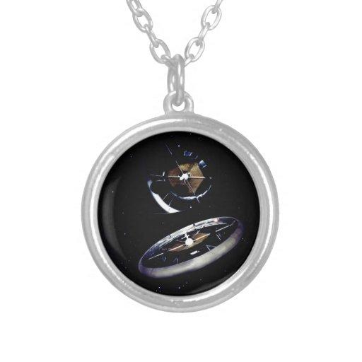 Estación espacial del anillo joyeria personalizada