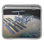 Estación espacial en la órbita 4 mangas de iPad