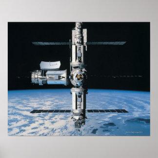 Estación espacial en la órbita 7 posters