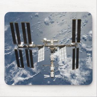Estación espacial internacional 14 alfombrilla de ratones