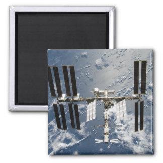 Estación espacial internacional 14 imán cuadrado