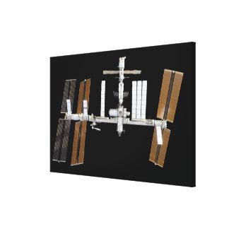 Estación espacial internacional 14 impresión en lienzo
