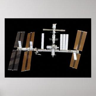 Estación espacial internacional 14 póster