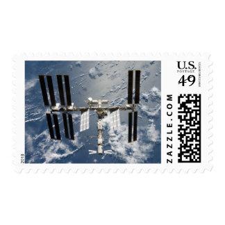 Estación espacial internacional 14 sello postal