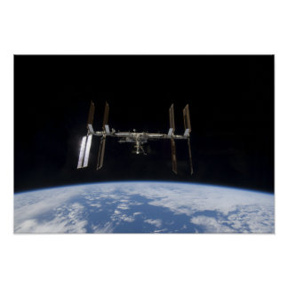 Estación espacial internacional 19 poster