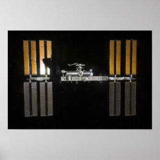 Estación espacial internacional 21 posters
