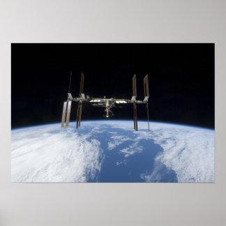 Estación espacial internacional 22 impresiones