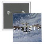 Estación espacial internacional 28 pin cuadrada 5 cm