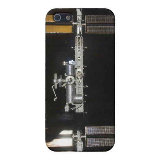 Estación espacial internacional 2 iPhone 5 fundas