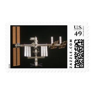 Estación espacial internacional - 2 (medio) sellos