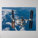 Estación espacial internacional 4 impresiones