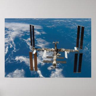 Estación espacial internacional 4 póster