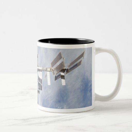 Estación espacial internacional 4 tazas de café