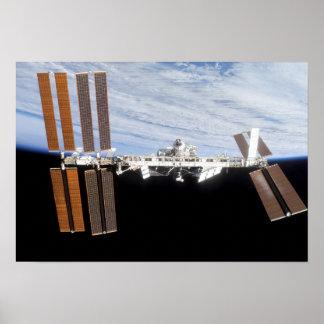 Estación espacial internacional 8 posters