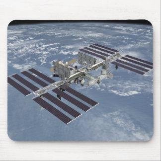 Estación espacial internacional completa alfombrilla de raton