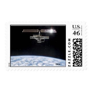 Estación espacial internacional de la NASA - tierr