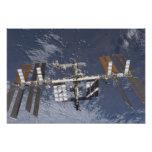 Estación espacial internacional en órbita cojinete