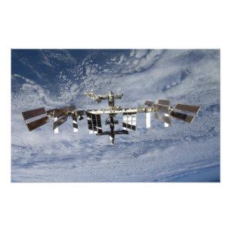 Estación espacial internacional fotografía