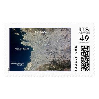 Estación espacial internacional/Grecia Sello