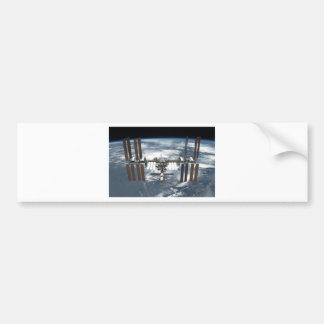 Estación espacial internacional ISS, esfuerzo 2011 Pegatina De Parachoque