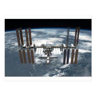 Estación espacial internacional ISS, esfuerzo 2011 Tarjeta Postal