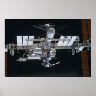 Estación espacial internacional (ISS) Poster