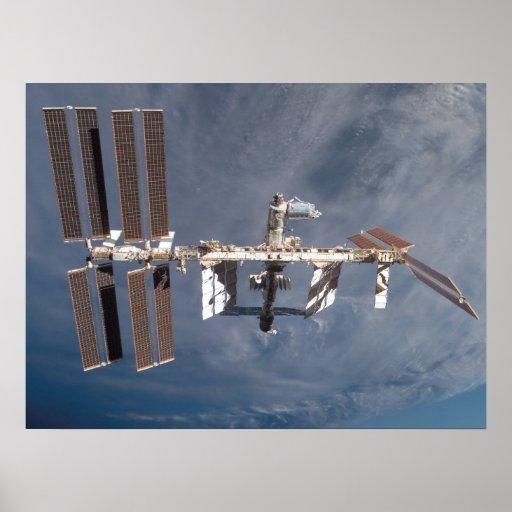 Estación espacial internacional (ISS) Póster