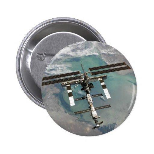 Estación espacial internacional pin