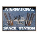 Estación espacial internacional postales