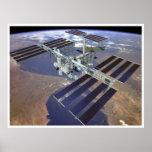 Estación espacial internacional poster