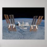 Estación espacial internacional posters