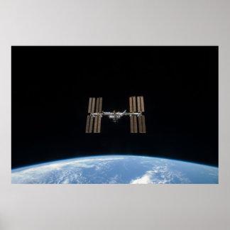 Estación espacial internacional (STS-119) Poster