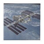 Estación espacial internacional, teja del ISS
