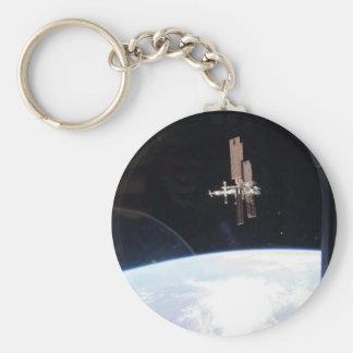 Estación espacial internacional -- Visto de la Atl Llaveros