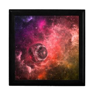 Estación espacial nueve caja de regalo