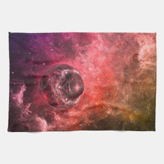 Estación espacial nueve toalla de cocina