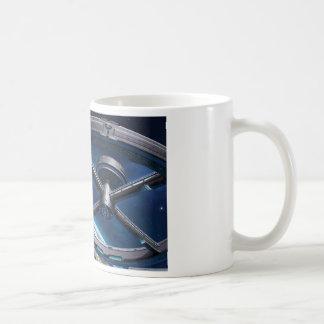Estación espacial taza clásica