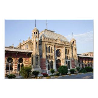 Estación expresa de Oriente en Estambul Impresiones Fotograficas