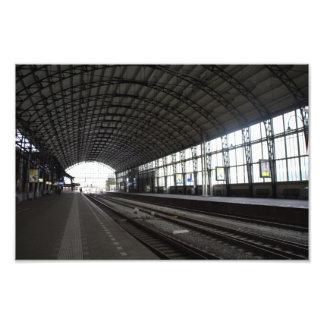 Estación Haarlem Impresiones Fotográficas