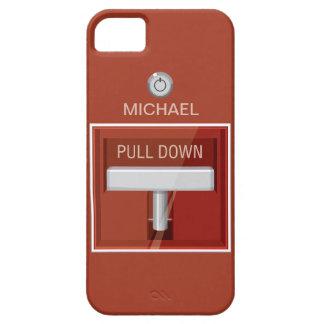 Estación la alarma de incendio iPhone 5 Case-Mate funda
