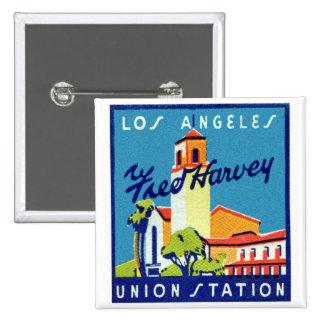 Estación retra Fred Harvey de la unión del LA del  Pin