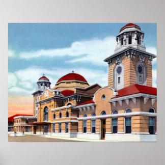 Estación terminal de Birmingham Alabama Impresiones