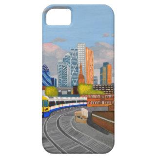 Estación terrestre de Hoxton del tren de Londres iPhone 5 Carcasa