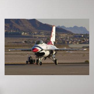 Estacionamiento del U.S.A.F. Thunderbird #1 Póster