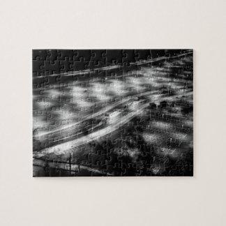 Estacionamiento en blanco y negro puzzles con fotos
