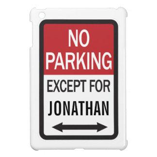 Estacionamiento prohibido a excepción de