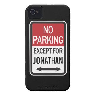 Estacionamiento prohibido a excepción de funda para iPhone 4 de Case-Mate